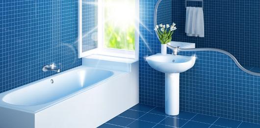 Takarítás: a higiénikus fürdőszoba